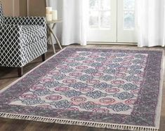 Etsy :: Your place to buy and sell all things handmade Art Of Living, Home Living, Anthropologie Rug, Cost Plus, Kantha Quilt, Throw Rugs, Large Rugs, Cool Rugs, Outdoor Rugs