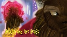 Beauty and the Beast/La bella e la bestia drawing