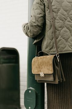 Streamlined + Monochromatic Army Green Layers - Anne Sage