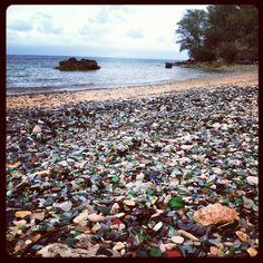 "Sea glass beach Bermuda"".Pin provided by Elbow Beach Cycles http://www.elbowbeachcycles.com"
