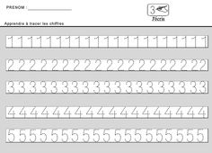 Site maternelle : apprendre à tracer des chiffres en moyenne section Pre School, School Days, Maternelle Grande Section, Math For Kids, Preschool Worksheets, Fine Motor Skills, Kids And Parenting, Kids Learning, Teaching Resources