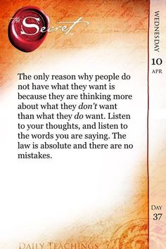 The Law of Attraction #LOA