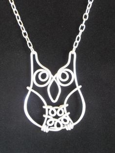 Gotta LOVE Owls!!!  Wise Old Owl Necklace  Hand Wire Wrapped  by RefreshingDesigns, $20.00