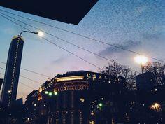 Milan #milano#lombardia#sunset#birds#lookuptothesky#travelphotography#travelphoto#lights#sunset_madness#milanphotography#station#skyporn#skylovers#vscocamgram#vscocam#whatitalyis#citylife#citymood#contrast#bigcitylife#igersmilano#igerslombardia#unsquare#lombardia_superpics#milanodavedere#pirellone by _chiaramagnani