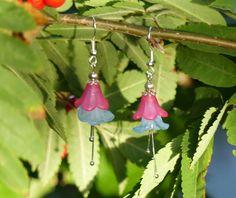 Bekijk dit items in mijn Etsy shop https://www.etsy.com/nl/listing/462824204/prachtige-handgemaakte-bloem-oorbellen