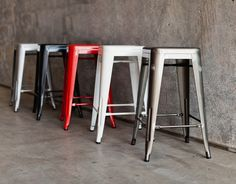 Mocka Large Industrial Stools www.mocka.co.nz