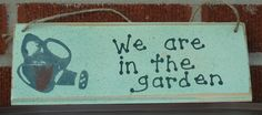We are in the garden. grandmas-trunk.com