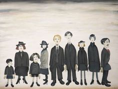 ls lowry the funeral party - Google Search