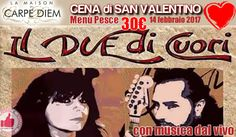 Cena Di San Valentino - Menù Pesce - Da La Maison Di Carpediem http://affariok.blogspot.it/