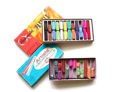 pastels...