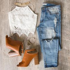 Slay the day with this look Our 'Good Company Jeans' are ADORABLE #ShopPriceless