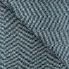 Spotted Merino Lambswool Blanket in Deep Blue – James & May