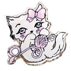 Fancy Feline Ring Roxie Sweetheart by roxiesweetheart on Etsy Gyaru, Cyberpunk, Rockabilly, Harajuku, Grunge, Pin Up, Gothic, Girly, Creepy Cute