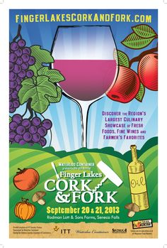 Celebrate the region's largest culinary and beverage showcase with samples of fresh foods and farmer's favorites. New this year are beers & spirits! Visit www.fingerlakescorkandfork.com for more information. Tickets on sale now online and at all Wegmans Food Markets