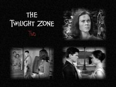 """Two"" - (The Twilight Zone, S3/E1: written and directed by Montgomery Pittman) -  Two survivors of an apocalyptic battle, a man and a woman from opposing sides, approach each other suspiciously; starring Elizabeth Montgomery and Charles Bronson."