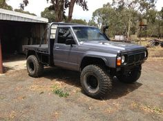 Nissan Patrol nice run-about work truck Best 4x4 Cars, Ute Trays, Land Cruiser 70 Series, Patrol Gr, Nissan 4x4, Super Troopers, Nissan Patrol, 4x4 Off Road, Jeep 4x4