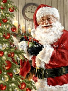 gif p re no l santa claus papai noel - Page 8 Merry Christmas To All, Christmas Scenes, Christmas Images, Santa Christmas, Christmas Greetings, Beautiful Christmas, Christmas Time, Vintage Christmas, Christmas Stockings