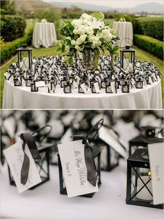 little lantern escort cards