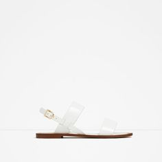 super minimalist #vegan sandals from zara #vegetarian #shoes