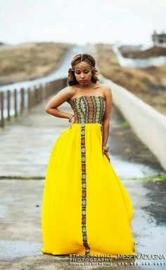 Ethiopian Dress just add a cover up