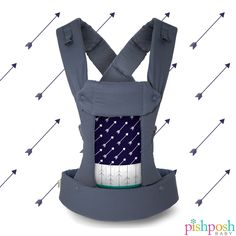 One of our fave designs is right on target! The Gemini carrier in Arrow by Beco Baby Carrier is fully adjustible, can be worn in 4 positions, comfy for parent and baby, and let's face it, totally fab. Shop our Beco collection on our site!  http://www.pishposhbaby.com/beco-gemini-baby-carrier.html