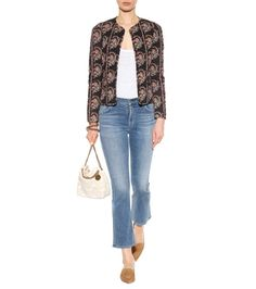 mytheresa.com - Fleetwood cropped flared jeans - Luxury Fashion for Women / Designer clothing, shoes, bags