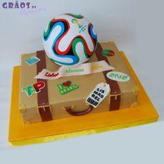 Mundia 2014 - Grãos de Açúcar - Bolos decorados - Cake Design