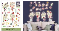 3D DIY Removable Stars Luminous Wall Sticker Fluorescence Stars Moon Poster Mural Vinyl Glow In the Dark Wall Stickers Decal