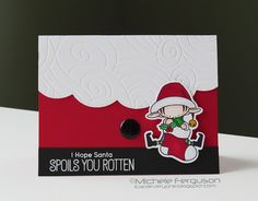 I Card Everyone : My Merry Christmas Wish for Muse #146 | I hope santa spoils you rotten