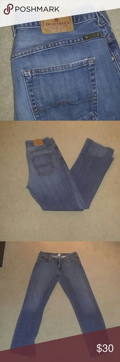 Lucky Brand Dungarees Jeans Good condition. Size 31 waist. Wear on the bottoms. Lucky Brand Jeans Boot Cut