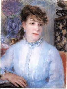 Pierre-Auguste Renoir - Portrait Of A Woman