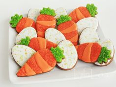 Speckled Eggs and carrots