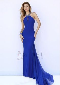 Yarn Sheath Formal Dresses