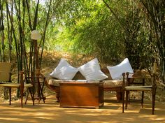 Outdoor Living Room, Sher Bagh