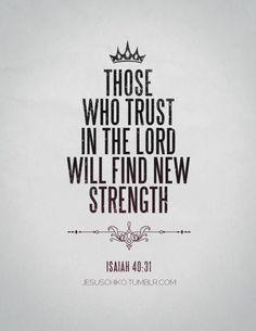 Isaiah 40:31...More at http://beliefpics.christianpost.com/