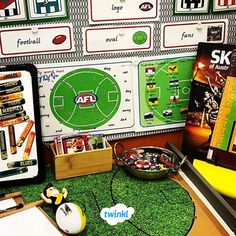 This set of word cards includes the key vocabulary you'll encounter when teaching about the Australian Football League. Great for a variety of activities, you could use them for inspiration during independent writing activities, as a spelling aid, to Australian Football League, Writing Activities, Spelling, Vocabulary, Blues, Key, Teaching, Words, Inspiration