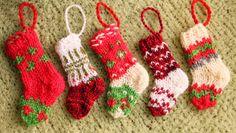 Tiny Christmas stockings