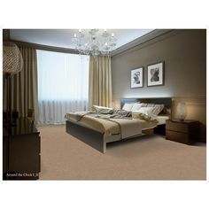 Home Decorators Collection Around The Clock II - Color Downtown Texture 12 ft. Carpet-H0112-1207-1200 - The Home Depot
