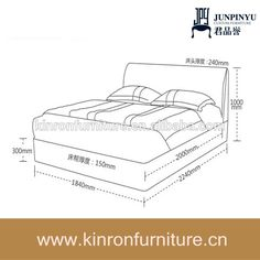1000 ideas about medida cama king on pinterest medidas - Cama matrimonial medidas ...
