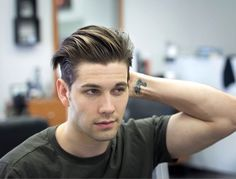 19 Mens Short Pompadour Hairstyle 19 Awesome What Hairstyles Do Guys Like Best Ideas New Men Hairstyles, Undercut Hairstyles, Straight Hairstyles, European Hairstyles, Hairstyle Short, Elegant Hairstyles, Natural Hairstyles, Modern Mens Haircuts, Haircuts For Men