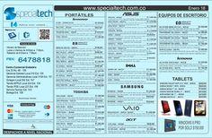 lista-de-precios-specialtech-enero-18-de-2013 by Specialtech Octavio Gonzalez via Slideshare