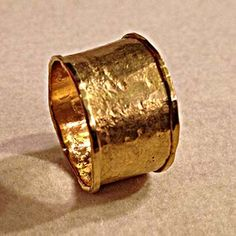 Everchanging Ring in 24k gold by Seattle Artist Jana Brevick.