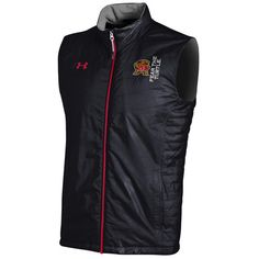 Maryland Terrapins Under Armour Accelerate Microfleece Full-Zip Vest -  Black -  78.99 Notre Dame e7c0fe92b8174