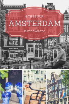 8 Tipps für einen Besuch im wunderschönen Amsterdam!   Für drei Tage in Amsterdam hatte ich mir ein kleines Touri-Programm ausgedacht, um so die typischen Dinge zu sehen, die man eben gemacht oder gesehen haben muss in Amsterdam. Wichtig war mir aber, mir nicht zu viel vorzunehmen, sondern einfach die Stadt ganz gemütlich zu erkunden und auf mich wirken zu lassen. Hat geklappt – bin ein bisschen verliebt. ;)