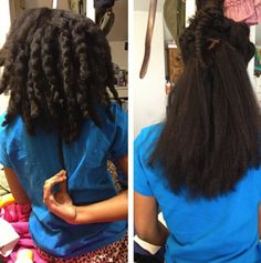Click the image for Victoria's natural hair photos and regimen.