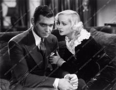 photo Clark Gable Carole Lombard film No Man of Her Own 3199-19