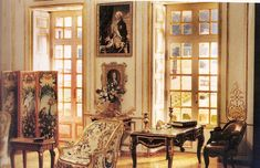 Louis XV Salon (Ruth McChesney's miniature rooms. This Collection of images comes from the no longer published book by Anne Day Smith, and files of Tom McChesney, her son, and her collaborator, Dick Smith)