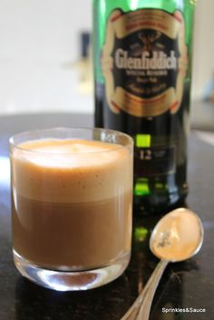 """Espressois coffeebrewed by forcing a small amount of nearly boiling water under pressure through finely ground coffeebeans. Scotch whisky, often simply called """"Scotch"""", is malt whiskyor grain whiskymade in Scotland.  espresso + scotch whisky = Scotch Coffee, a pick me up drink that's great as your first cup in the morning or to end …"""