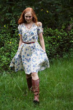 Clara Dress Sewing Pattern Sew liberated