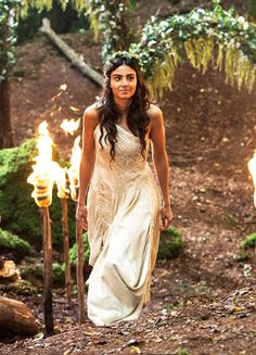 Aiysha Hart in 'Atlantis' (2013). x